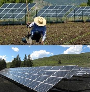 Energia Solar na Fazenda
